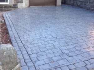 Granite Sett Style, Slate Blue Combination