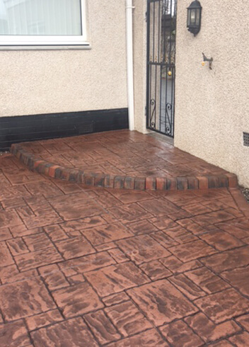 PatternPave Curved Step